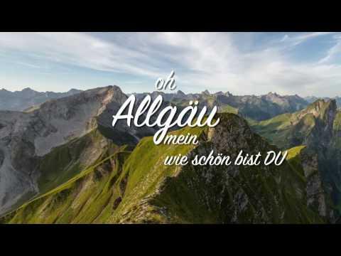 Oh Allgäu mein wie schön bist du Cärolein Michael Schader Martin Kilger und Hannes Guggenmos