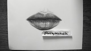 TUTORIAL: How to draw realistic lips