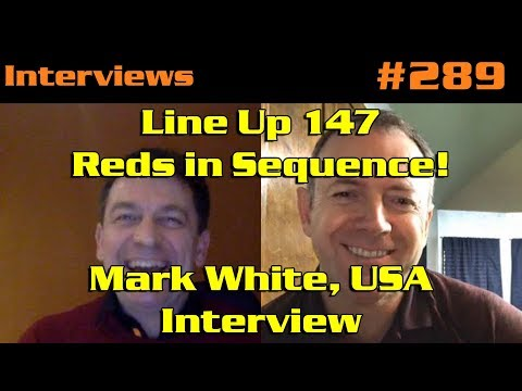 Line Up 147 – Reds in Sequence! Mark White, USA: Interview