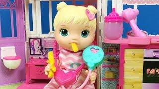 YENİ Baby Alive Oyuncak Bebek | Bebek Bakma Oyunu | EvcilikTV