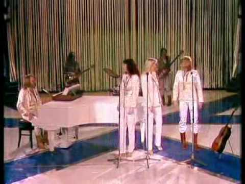 ABBA CHIQUITITA AND DOES YOUR MOTHER KNOW TAKEN FROM ABBA IN SWITERLAND 1979