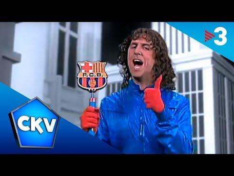 Carles Puyol canta 'Mou, res!' - Crackòvia - TV3