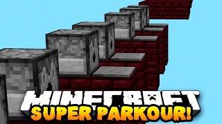 Minecraft SUPER SPEEDRUN PARKOUR! w/ PrestonPlayz, Choco & Kenny