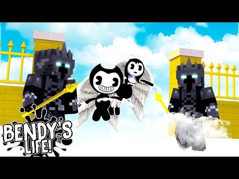 Minecraft BENDY'S LIFE || BENDY & ALICE ANGEL ARE TRAPPED IN HEAVEN FOREVER!!
