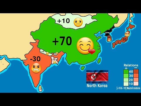 Relations Between North Korea And The World