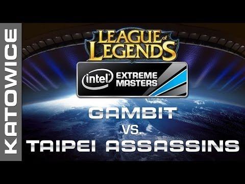 Gambit  Gaming vs. Taipei Assassins - Group B Decider - IEM Katowice 2014 - League of Legends