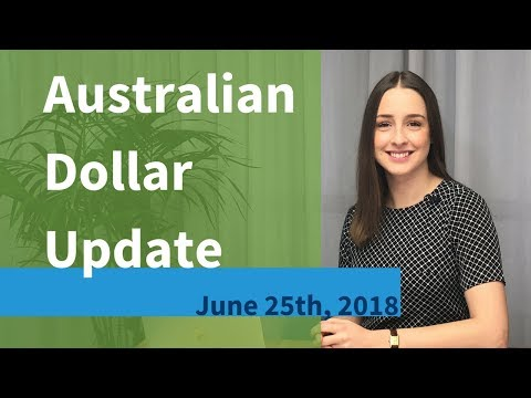 12-MONTH LOW FOR AUD | Australian Dollar Market Update (June 25th, 2018)