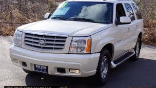 2004 Cadillac Escalade AWD White Diamond