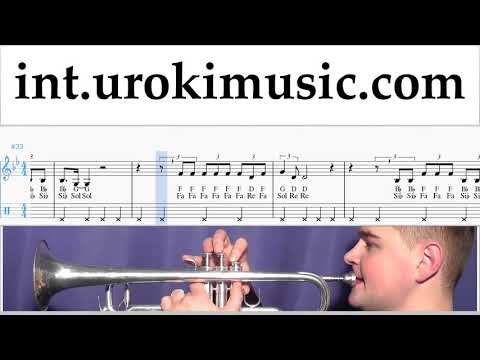 Never Really Over Sheet Music Trumpet - Katy Perry Never Really Over Tutorial thumbnail