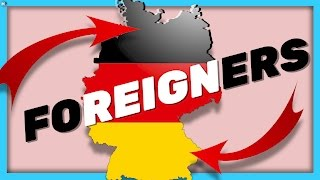 8.7 Million FOREIGNERS in GERMANY: Where do they come from?