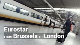 Eurostar from Brussels to London