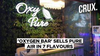 Delhi's 'Oxygen Bar' Sells Fresh Air Amid Spike in Pollution | CRUX