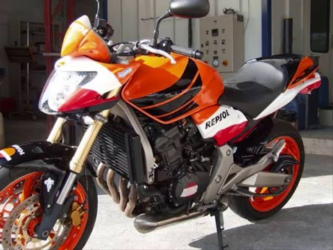 honda hornet repsol youtube. Black Bedroom Furniture Sets. Home Design Ideas