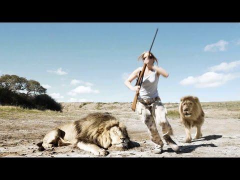 Lion Takes Revenge On Trophy Hunter! [LEAKED VIDEO]