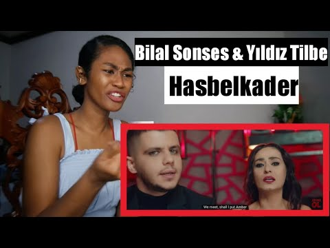 Bilal Sonses & Yıldız Tilbe - Hasbelkader (Official Video) | Reaction