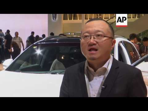 The latest cars and technology on show in Shanghai