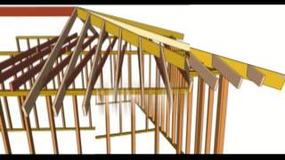 Hip Rafter And Ceiling Joists Layout Tips - House Framing