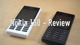 Nokia 150 with one month Battery Backup - Long Term Review
