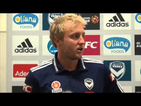 Mitch Nichols talks about his move to Melbourne Victory