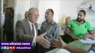 محافظ المنيا الجديد يتفقد إدارات ومكاتب الديوان العام.. فيديو وصور