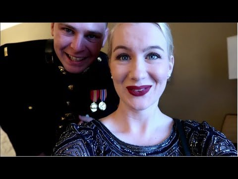 Marine Corps Ball With My Service Dog