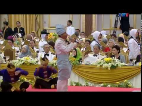 Lirik Daulat Tuanku - Majlis Santapan Diraja - Halim Yazid