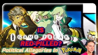 Is Gamefreak Red Pilled? Political Allegories in Pokemon