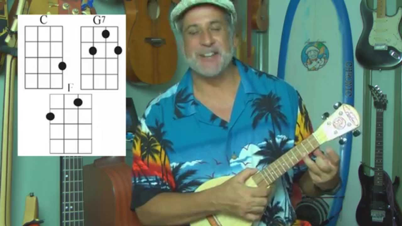 Someone to Lava Song Ukulele Chords and Strumming - YouTube
