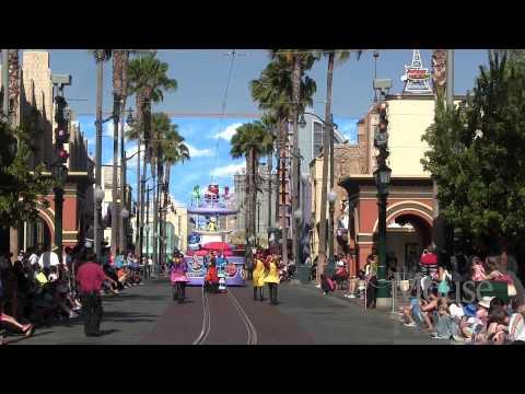 Inside Out Pre-Parade at Disney California Adventure