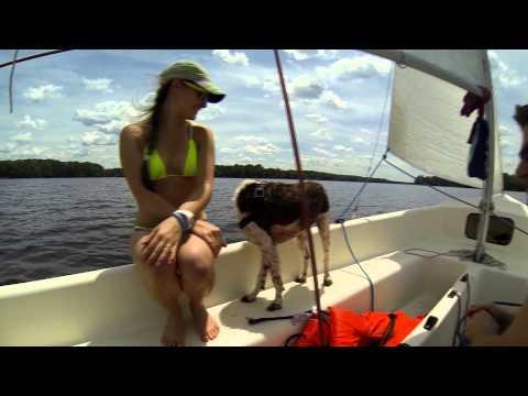 Sailing in Brandermilll with Friends   Midlothian, VA