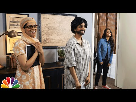 Jimmy Meets Lilly Singh's Parents