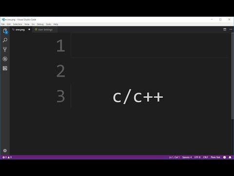 Setup Visual Studio Code For C And C++
