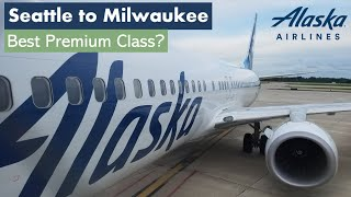 TRIP REPORT | Alaska Air | Premium Class | Seattle to Milwaukee | Boeing 737-900ER