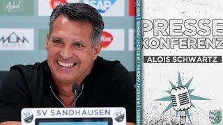 Pressekonferenz   Vorstellung Alois Schwartz