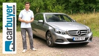 Mercedes E-Class saloon 2013 review - CarBuyer