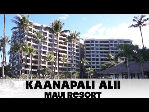 Kaanapali Alii Maui Resort Tour