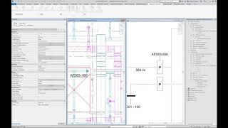 MagiCAD 2020 for Revit / Schematics Move & Stretch and Remove Linked Objects