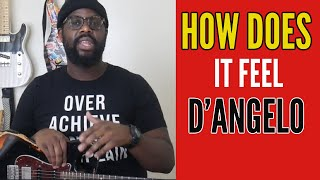 How to Play How Does It Feel by D'Angelo - R&B Guitar Tutorial by Kerry 2 Smooth