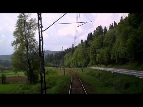 Kryniczanka cz 8 w HD Żegiestów Zdrój - Muszyna ( Linia 96 ) EP07-542 TLK  43502