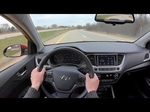 2020 Hyundai Accent Limited - POV Test Drive (Binaural Audio)