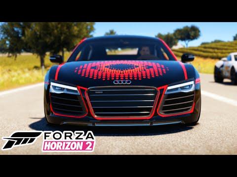 Forza Horizon 2 - AUDI R8 MONSTRO em CASTELLETTO! #24