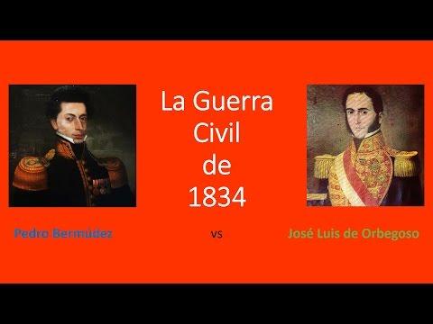 La Guerra Civil de 1834 (1° Parte) | Historia del Perú