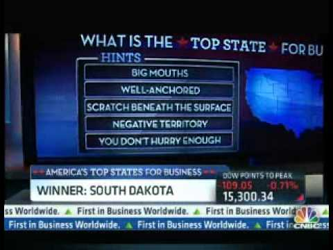 America's Top State for Business  South Dakota