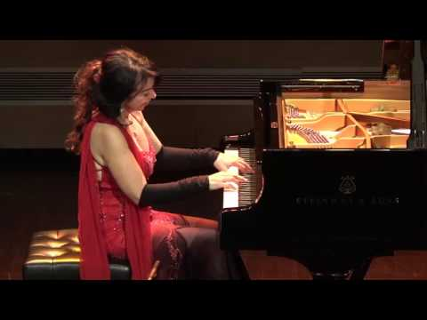 Brazilian pianist, Eliane Rodrigues, LITERALLY taking the pe