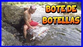 ونحن إنشاء قارب مع زجاجات عبرنا النهر - TATTOXTREME