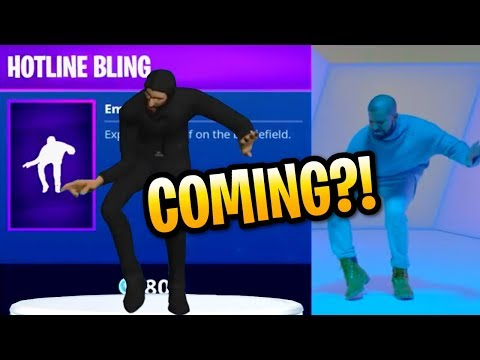 Fortnite Drakes Hotline Bling Dance Emote Coming To Battle Royale? PC, PS4, Xbox One & Mobile