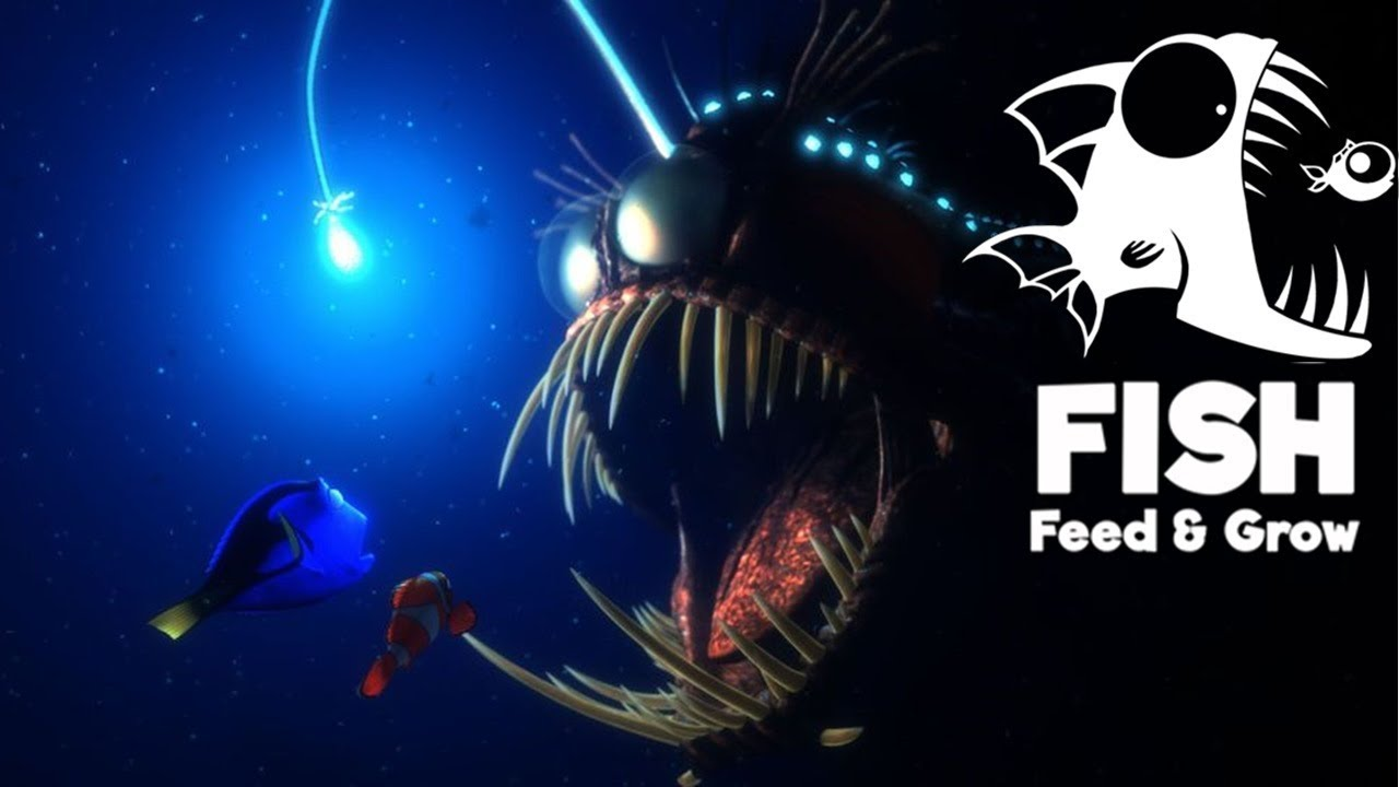 Setting an ambush angler fish update feed and grow for Fish and grow