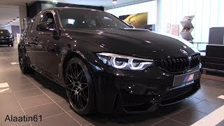 INSIDE the BMW M3 Competition Package 2018 | SOUND In Depth Review Interior Exterior