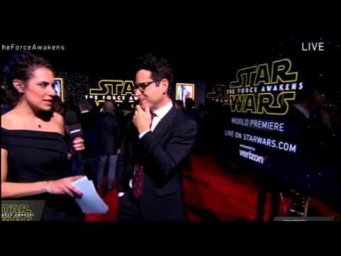 J.J. Abrams Interview - Star Wars The Force Awakens Red Carpet
