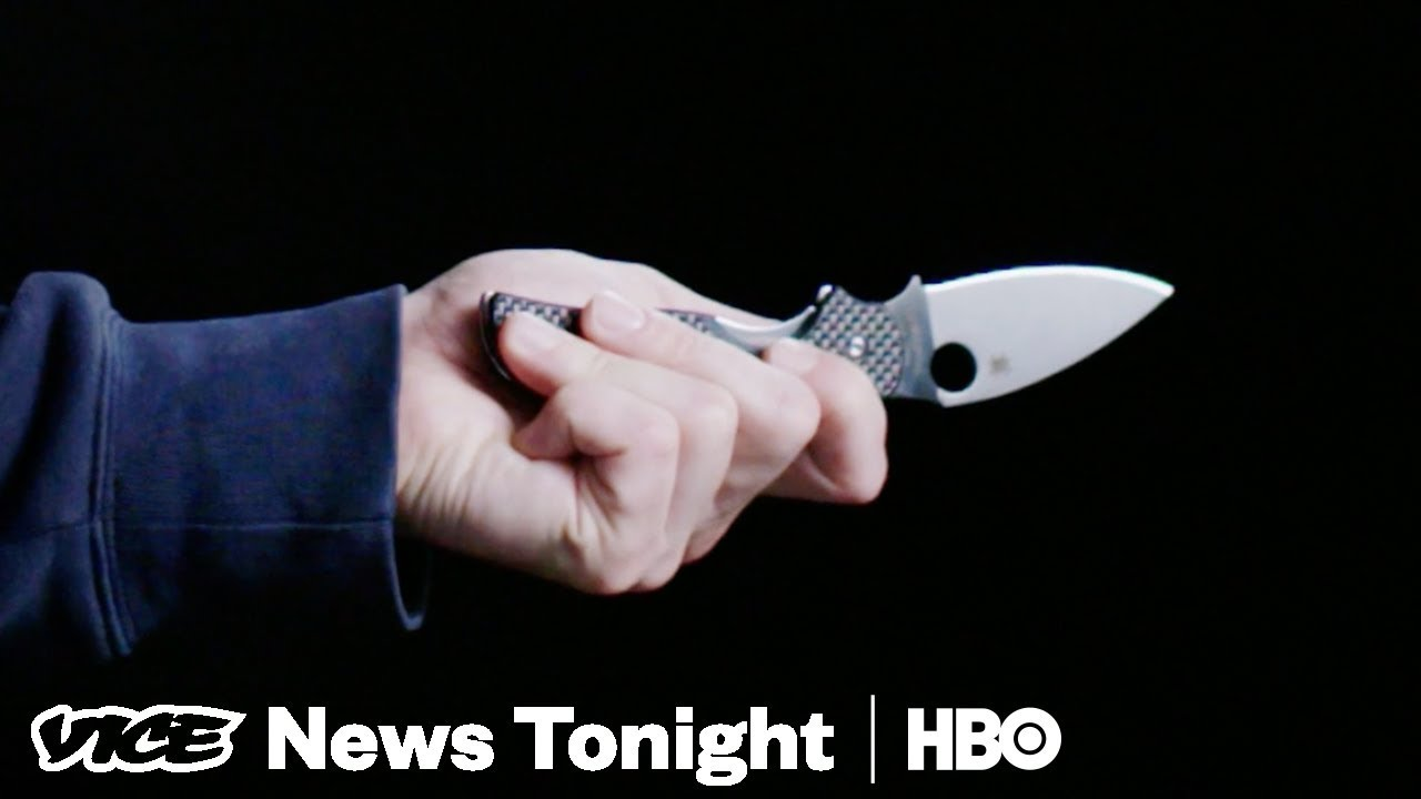 war on knives & protesting trump's wilderness: vice news tonight